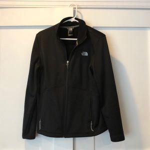 North Face Black Fleece Lined Jacket